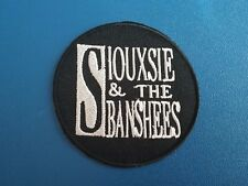 PUNK ROCK HEAVY METAL MUSIC SEW / IRON ON PATCH:- SIOUXSIE & THE BANSHEES
