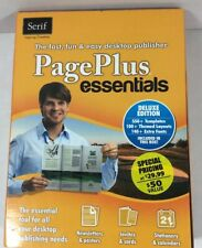 Page Plus Essentials By Serif Deluxe Edition Includes Product Key.
