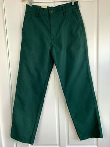 Hard Yakka Dark Green Cotton Moleskin Pants BNWT Women's Size 10