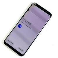 Samsung Galaxy S8 SM-G950F 64GB  Silver (Unlocked) FAULTY LCD, NO RESPONSE 967