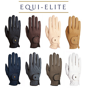 Roeckl ROECK GRIP Gloves - Breathable & Supple Unisex Riding Gloves