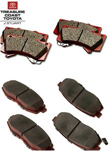 NEW OEM SCION FR-S AND TOYOTA 86 TRD BRAKE PADS FRONT & REAR