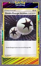 Double Energie Incolore-SL1:Soleil et Lune-136/149-Carte Pokemon Neuve Française