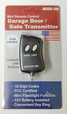 10 Pin Digit Remote Control Garage Gate Door Opener Transmitter Access-300