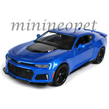 MAISTO 31512 2017 17 CHEVROLET CAMARO ZL1 1/24 DIECAST MODEL CAR BLUE