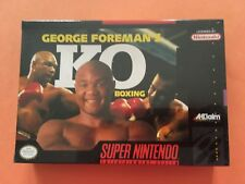 George Foreman's KO Boxing (Super Nintendo Entertainment System, 1993)