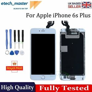 For iPhone 6s Plus LCD Screen Replacement White Display Touch Digitizer + Camera