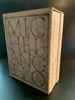 Michelangelo: Paintings Sculpture Drawings 3 Volume Boxed Set - Frederick Hartt
