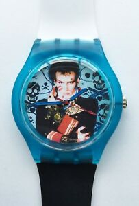 Adam Ant Prince Charming watch - Retro 80s designer wristwatch