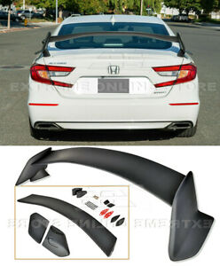 For 18-Up Honda Accord Sedan Rear JDM Type-R Style Spoiler Trunk Lid Wing New