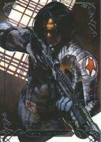 2018 Upper Deck Marvel Masterpieces Base Set Card #30 Winter Soldier /1999