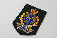 Obsolete Embroidery British Royal Hong Kong Police Badge Correctional Services