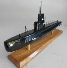 SS-244 USS Cavalla Submarine Mahogany Kiln Dry Wood Model Small New