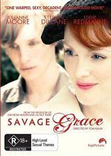 Savage Grace (DVD, 2009)-REGION 4-Brand new-Free postage
