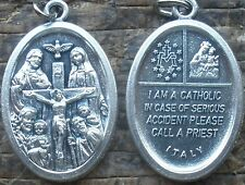 Buy 2 or more: I Am a CATHOLIC Medal + In Emergency, Call Priest/Wear Your Faith