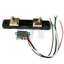"0.36""  Red LED Digital DC Ammeter AMP Mini Current Panel Meter DC 0-50A"