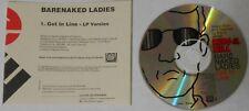 Barenaked Ladies  Get In Line  U.S. promo cd  -Rare!