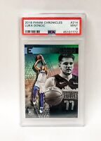 2018 Panini Chronicles Essentials Luka Doncic RC Rookie 214 PSA 9 MINT
