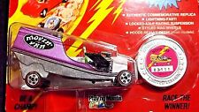 1993 JOHNNY LIGHTNING MOVIN' VAN PURPLE COMMEMORATIVE LIMITED EDITION CHALLENGER