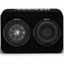 "Kicker 43TCWRT674 300W Single 6.75"" CompRT Shallow Loaded Subwoofer Enclosure"