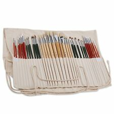 Magicfly Art Paint Brush Set - 36 Pcs Artists Oil Watercolor Acrylic with Fre...