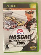 NASCAR 2005: Chase for the Cup (Microsoft Xbox, 2004) Complete