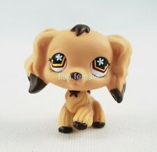 Littlest Pet Shop #575 LPS Tan Cocker Spaniel Dog Brown Dipped Ears Girl Toys