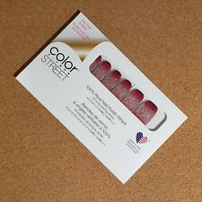 Color Street 100% Nail Polish Strips Various Colors ColorStreet