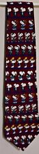 Peanuts United Feature Syndicate Inc Snoopy Cool Cooler Coolest Silk Neck Tie