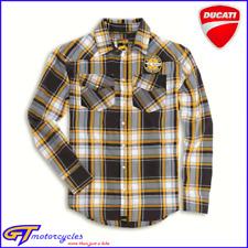 Original DUCATI Codificador a Cuadros Camisa con botones | Grande | | 987691745 para hombre