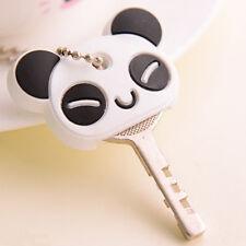 Fashion Korea Panda Soft Key Top Head Cover Cap Case Chain Keyring Phone Strap