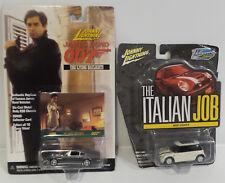 CARS : JAMES BOND ASTON MARTIN V8 VONTAGE & ITALIAN JOB MINI COOPER DIECAST SET