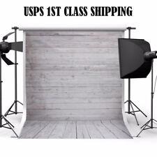 5x7ft Wood Wall Floor Studio Prop Photography Vinyl Background Photo Backdrop