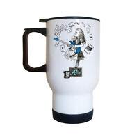 Alice In Buskerland Travel Mug | Alice In Wonderland | Mad Hatter | Singing