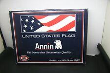 New listing Annin United State Flag 3x5' All Weather Nyl-Glo Nylon Usa Stars No Box