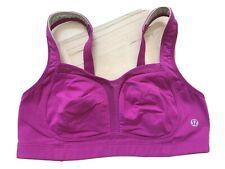 Lululemon Ta Ta Tamer Sports Bra Purple Plum Size 6