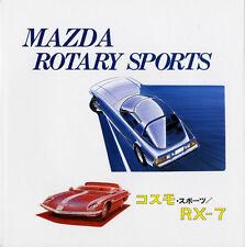 [BOOK] Mazda Rotary Sports Cosmo RX-7 L10A L10B RX-87 12A savanna SA22C Bertone