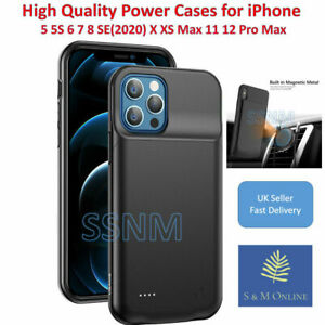 iPhone Battery power Case for iPhone X XS XS MAX XR 11 12 pro max 5 6 6s 7 8 UK
