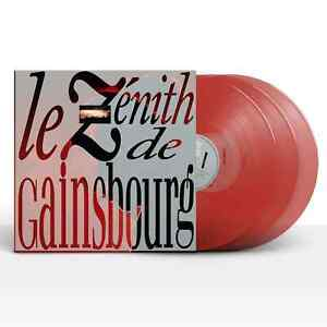 LE ZENITH DE GAINSBOURG - 1988 - TRIPLE LP VINYL - COULEUR-11-06-2021