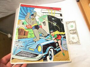 "1966 Batman Whitman No. 4518 Frame Tray Jigsaw Puzzle 14.5""x11.5"" in good shape"
