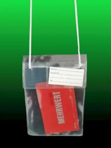 Fahrscheintasche Fahrschein Brustbeutel Kinder Fahrkarten Tasche Hülle