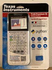 Texas Instrument TI-83 Premium CE Édition Python - Calculatrice Graphique