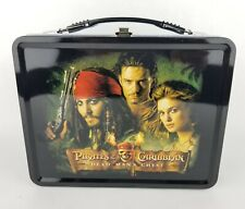 Pirates Of The Caribbean Dead Man's Chest Tin Lunch Box w/ Thermos Neca *UNUSED*