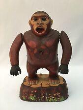Vintage Battery Operated Tin King Kong Gorilla Modern Toys Japan