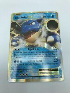 Blastoise EX ULTRA RARE 21/108 Pokemon XY Evolutions card TCG NM-LP HOLO 2016