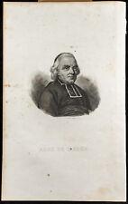 Portrait (1834) - Charles-Michel de L'Épée - Enseignement aux sourds