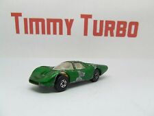 MATCHBOX SERIES SUPERFAST FORD GROUP 6 1969 GREEN NO 45 75 MM LONG