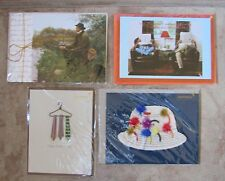 lot of 4 Papyrus Father's Day Cards Brand New, Cello Wrapped Dad #2