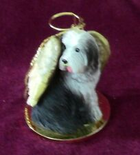 00004000 Bearded Collie Angel~75% donation to Bearded Collie Club of America Charity
