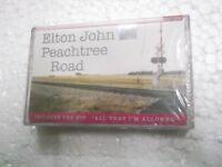 ELTON JOHN  PEACHTREE ROAD  SEALED 2004 RARE orig CASSETTE TAPE INDIA indian